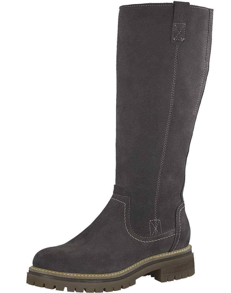 Tamaris Langschaft Stiefel 26617 214 grau anthrazit Touch It Warm Primaloft