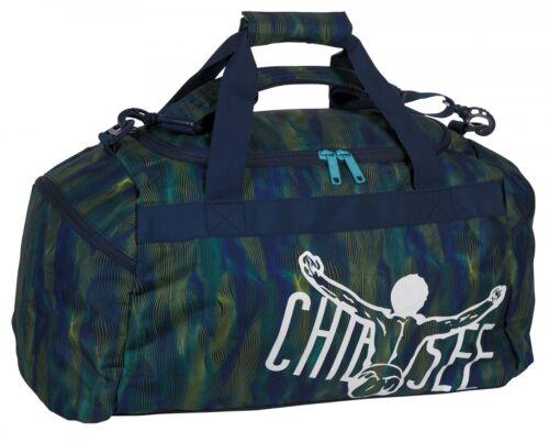 Chiemsee matchbag Medium bolso deportivo bolso valija line Dance Blue azul Nuevo