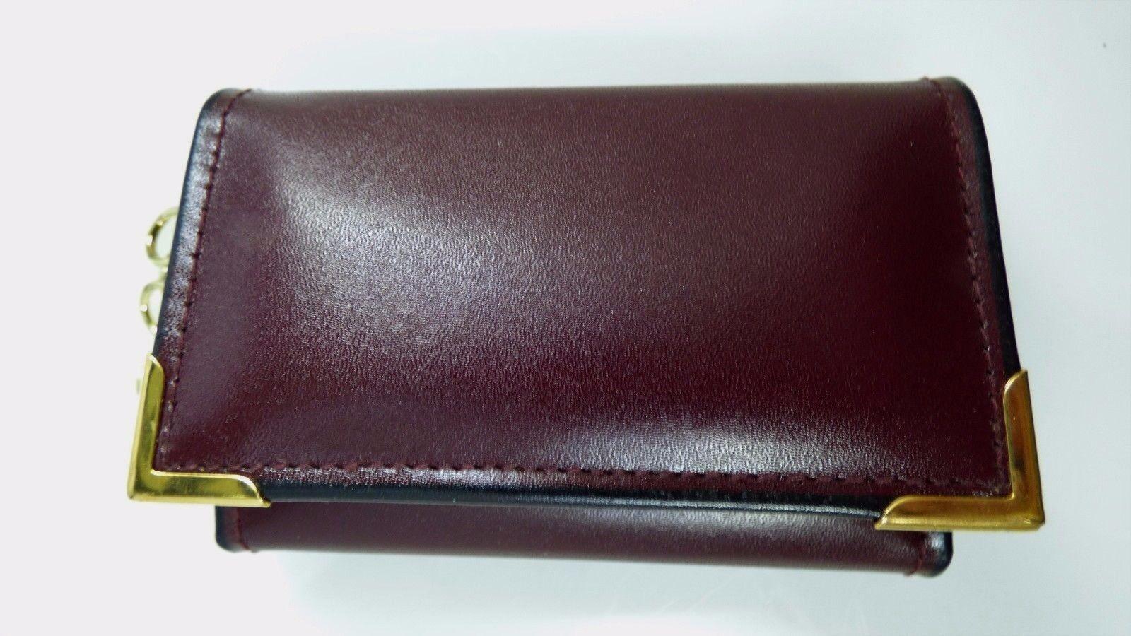 Vintage Di Lido 6 Key Holder Key Case Glove Cowhide Leather In Original Box