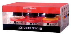 Amsterdam-Acrylic-Ink-Starter-Colours-Basic-Set-6-x-30ml