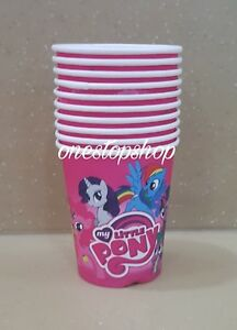 Shop8-10-pcs-MY-LITTLE-PONY-Paper-Cups-Birthday-Theme-Party-Needs