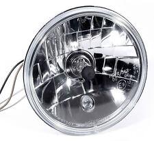 """H4 5-3/4"""" Klarglas Scheinwerfereinsatz für Harley Suzuki Yamaha Universal"""