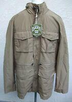 Men's Eddie Bauer Travex Short Shop Jacket Tan Brown Size S