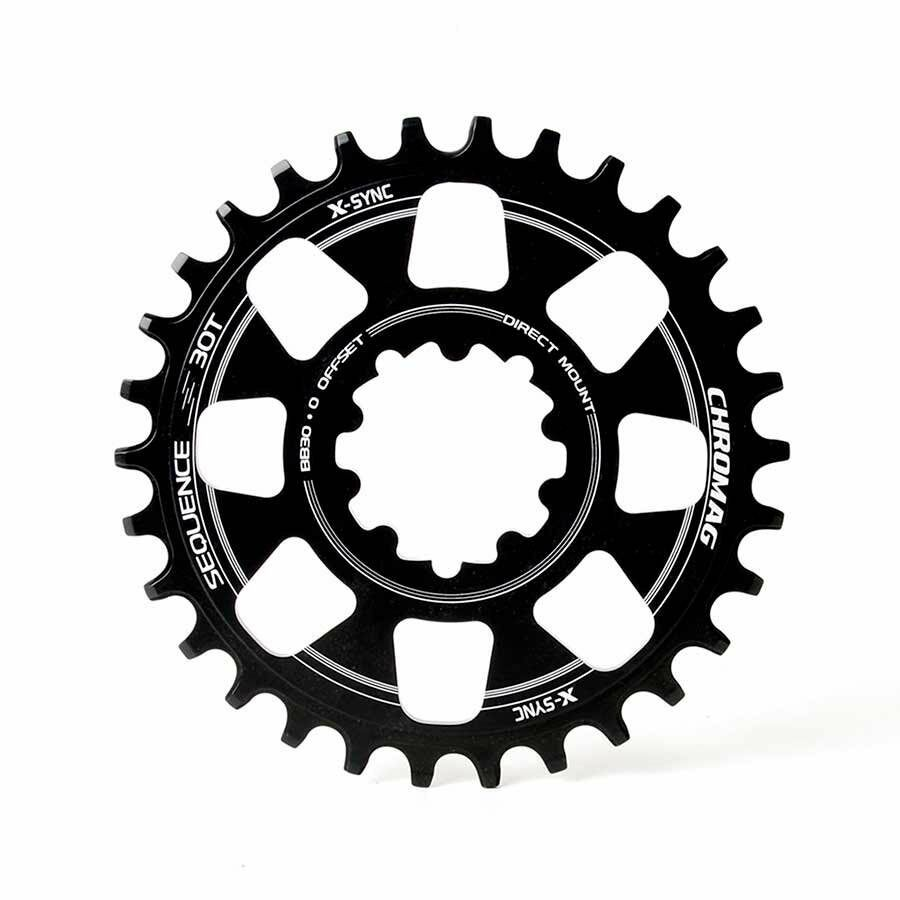 Chromag Sequence 28T 10 11sp BCD  Direct Mount Chainring For SRAM GXP 7075-T6 Al