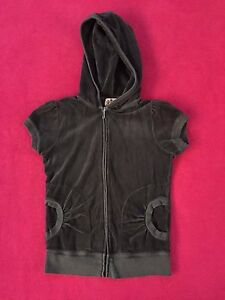 Juicy-Couture-Hooded-sweatshirt-Kids-GIRLS-size-SMALL