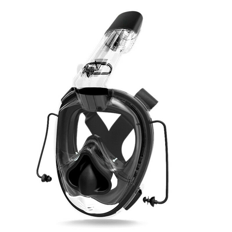 Diving Mask Full Face Scuba Diving Mask One-piece Gasbag Snorkeling Swimming SGH