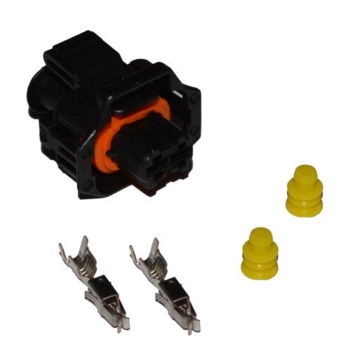Stecker Kabelsatz Einspritzdüse Injektor BMW Opel Fiat Alfa CDTi JTDM Crimp