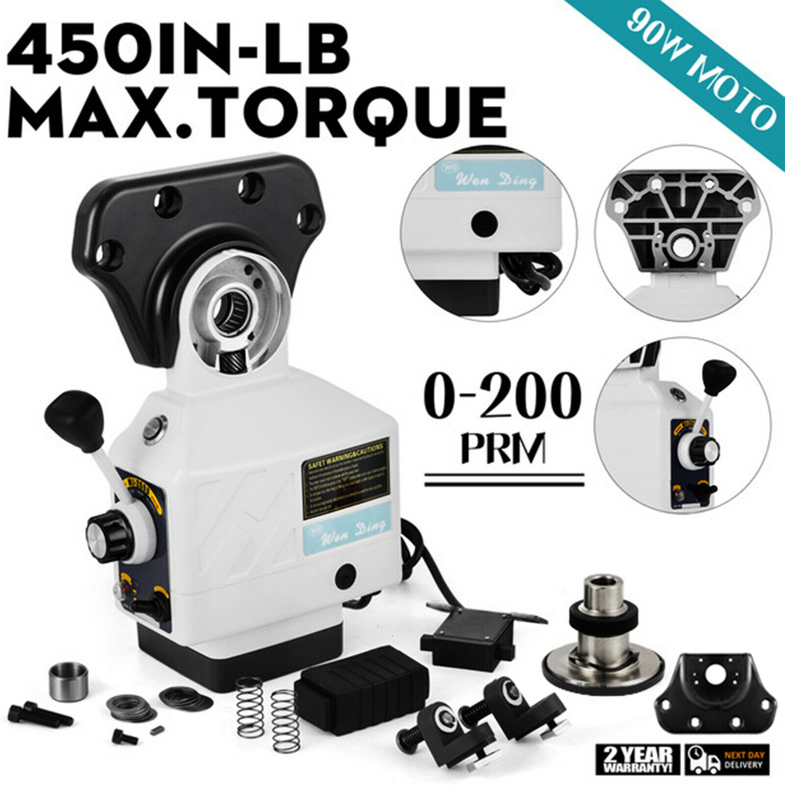 ALSGS 110V//220V Power Feed for Vertical Milling Machine X Y Axis AL-310SX os12