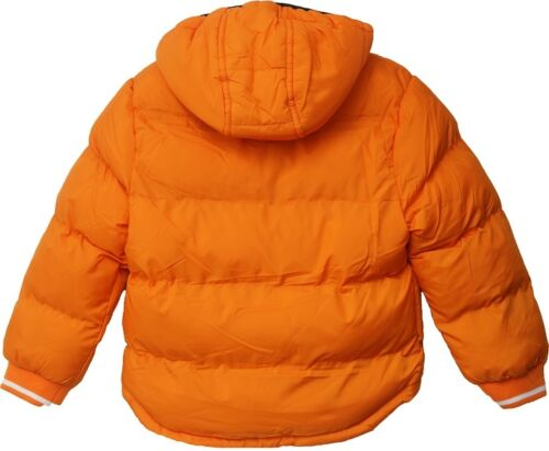 Baby Padded Jacket Quilted Coat Boys Girls 6-24 months Hooded Winter Warm Fleece