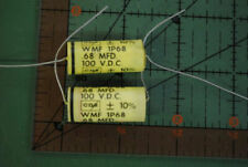 LOT OF 5 .5uF 100v CDE WMF-1P5 10/% Axial  PolyFilm Capacitor