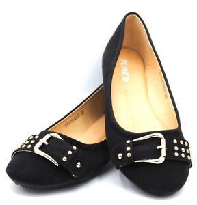 Ballerine-scarpe-basse-donna-ballerina-fondo-gomma-fibbie-casual-cerimonia-sexy