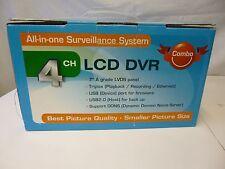 "Monacor DMR-40LCD 4 Kanal DMR Kamera Recorder Videoüberwachung mit 7"" Monitor"