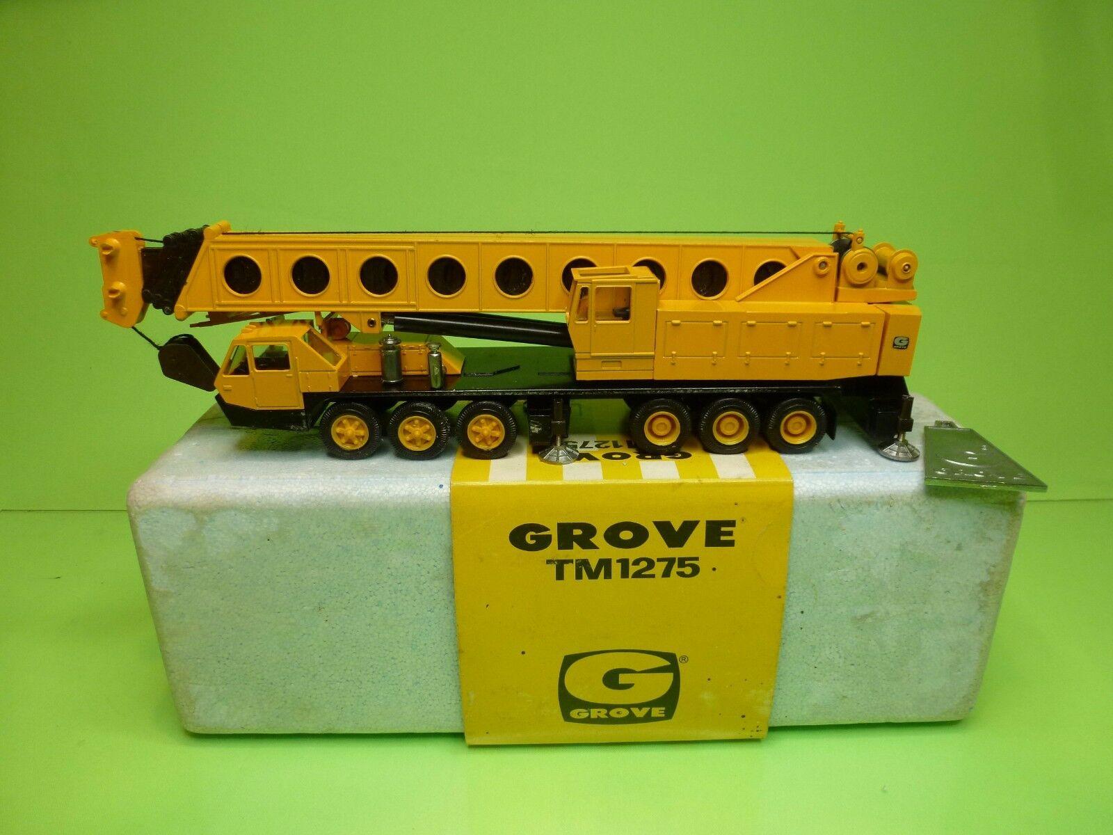 barato NZG MODELLE MOBILE TELESCOP CRAN GROVE TM1275    - amarillo 1 60 - GCIB  moda clasica