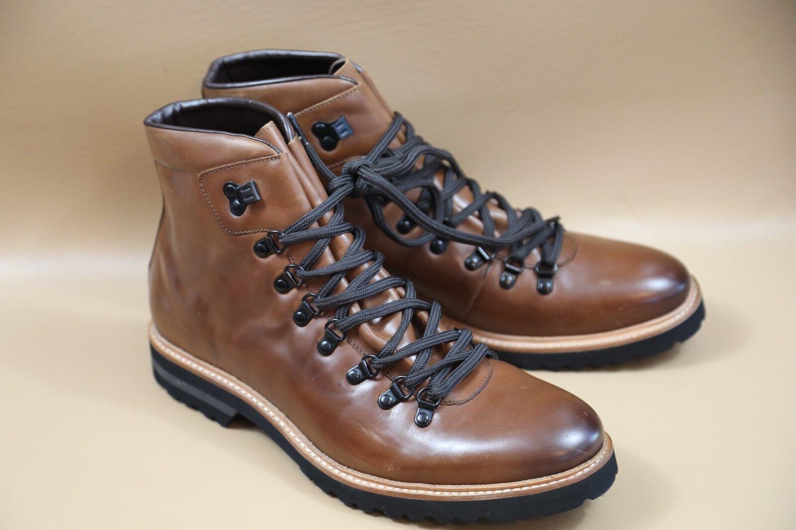 #12 Kenneth Cole Click Ur Heels Pelle Ankle Stivali Taglia 11 M  225 retail
