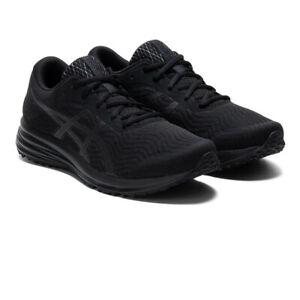 Asics Hommes Patriote 12 Chaussures De Course Baskets Sneakers Noir Sport