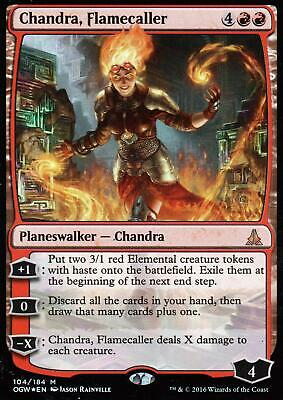 Flamecaller M//NM Magic Chandra The Gathering MTG Oath Of The Gatewatch