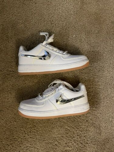 Size 10 - Nike Air Force 1 X Travis Scott 'White'