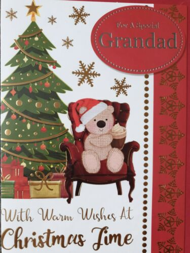 Pour un Spécial Grand-Père Carte de Noël