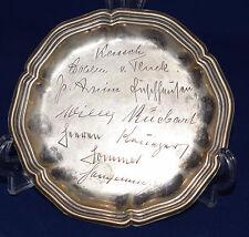 Silber Teller 835  Jakob Grimminger Schwäbisch Gmünd