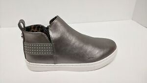 Size Little Kid 2.0 Pewter Kids Steve Madden Girls Jwedgiee Low Top Zipper