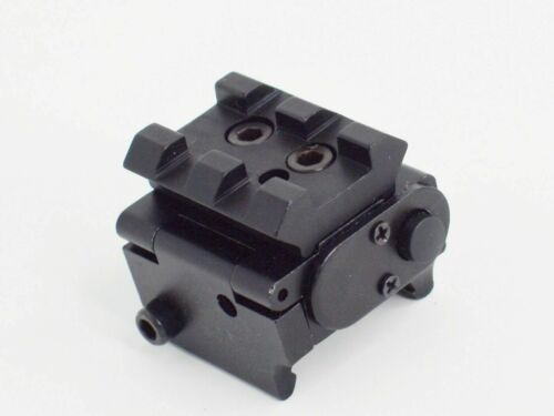 USA Mini Adjustable Compact Red Dot Sight//Laser Scope For Pistol 20mm Rail Mount