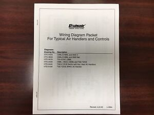 Cruisair , Wiring Diagram Packet for Typical Air Handlers & Controls on