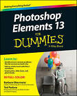 Photoshop Elements 13 for Dummies by Ted Padova, Barbara Obermeier (Paperback, 2014)