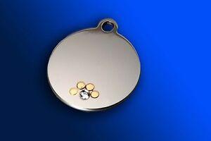 Medaglietta-per-Cani-con-orma-in-oro-e-zircone-COMPLETA-DI-INCISIONE