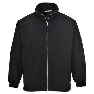 Portwest-Men-Portwest-Windproof-Fleece-Black-Navy-Various-Size-F285