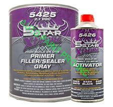 DTM Hi Build 2K primer/sealer 5 star 5425 auto body shop restoration car paint