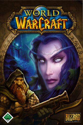 1 von 1 - World Of WarCraft (PC/Mac, 2005, DVD-Box) 5 cd