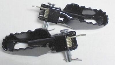 Z/ündapp Sozius Fussrasten Paar f/ür Yamaha DT 250 400 Kreidler Hercules XT 250 350 500 600