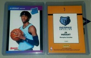2019-2020-Ja-Morant-2-RC-Panini-Instant-Retro-Rated-Rookie-Donruss-1989-3431