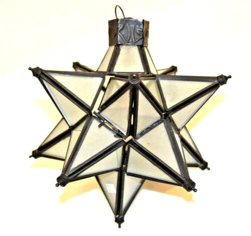 Moroccan Star CandleHolder Gift Small Stellated Dodecahedron Regular Polyhedron