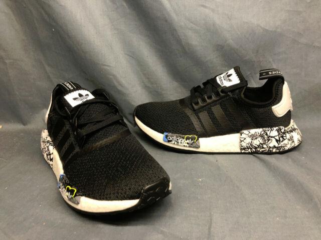Boys Girls Womens Adidas Shoes Sz 5 Nmd R1 J Eh1383 For Sale
