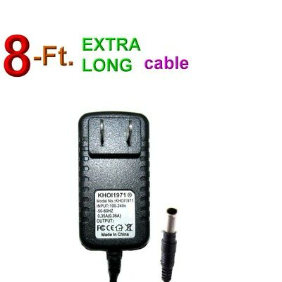 8FT WALL charger AC adapter FOR 8805-13 Dynacraft Frozen quad ride-on 6V-BATTERY