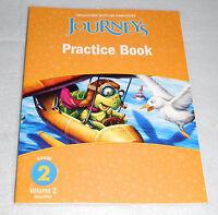 Houghton Mifflin Harcourt Journeys Practice Book Grade 2 Volume 2 Homeschool