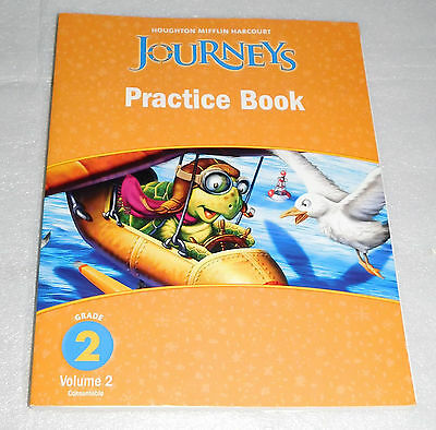 Houghton Mifflin Harcourt Journeys Practice Book Grade 2 Volume 2 Homeschool 9780547249148 EBay