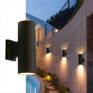 Details About Up Down 30w 36w 5 7 Inch Led Outdoor Wall Sconces Light Fixture Waterproof Lamp