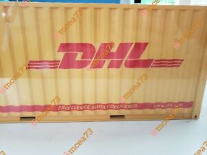 DHL SHIPPING 1:20 Sea Transport Cargo Shipping Container Model