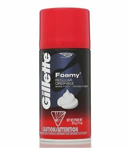 Gillette-Foamy-Shave-Foam-Regular-11-oz-Pack-of-3