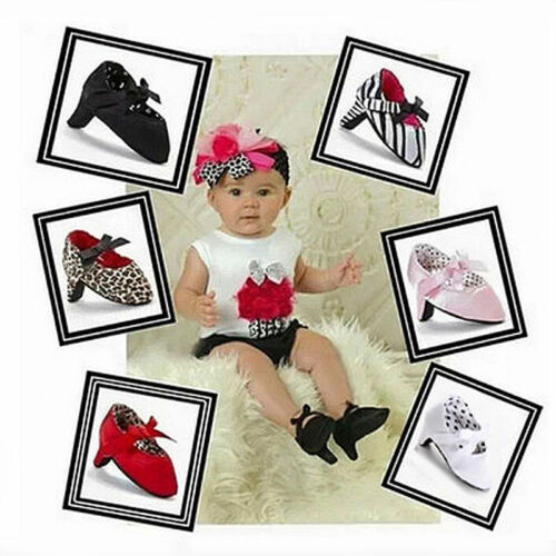 Hot Baby Newborn High-heeled Stain Cotton Photograph Photo Shoes Soft Sole S1575