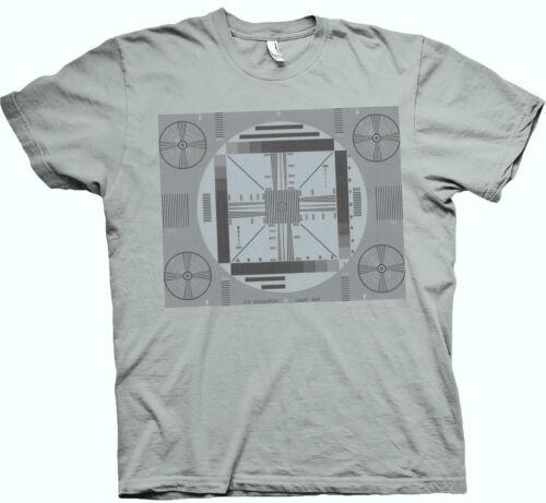 s//w Größen: S bis XXL 3XL bis 5XLmöglich +3€ 50-er Fun T-Shirt  TV Testbild