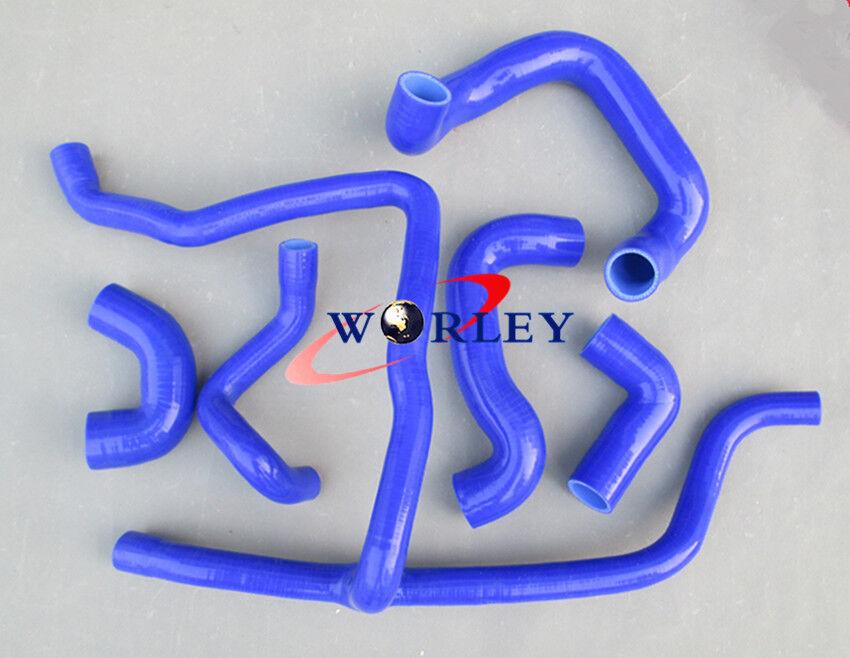 325i 1989 1990 1991 1992 Blue silicone radiator hose for  BMW E30 M20 320i