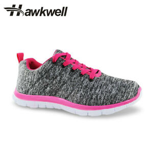 Hawkwell Women's Lightweight Sport Fashion Sneaker Cotton Causal Waking Shoes