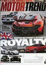 Motor Trend Magazine May 2015 BMW Killer Jaguar Xe First Drive