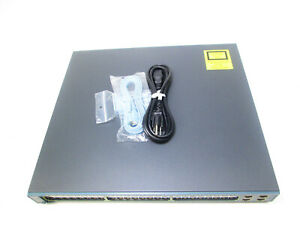 CISCO-WS-C3560G-48PS-S-48-Port-Gigabit-PoE-Managed-Switch-TESTED-AND-UPGRADED