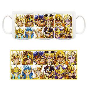 Saint-Seiya-Cavalieri-dello-Zodiaco-Gold-Oro-Tazza-Ceramica-Mug-Cup-Anime-2