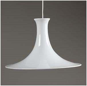 Rørig Holmegaard Lampe Hvid | DBA - billige og brugte loftslamper TH-84