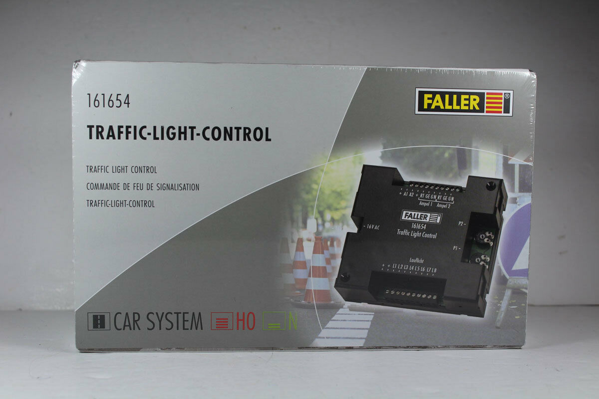 Faller Car-System 161654 Traffic-Light-Control, Neuware.  | Elegant
